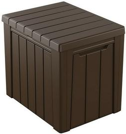 Keter 30 Gallon Resin Outdoor Deck Box Storage Table Weather