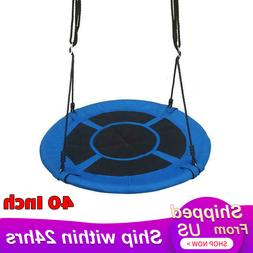 """40"""" Flying Saucer Tree Swing Childrens Swing Easy Install Ou"""