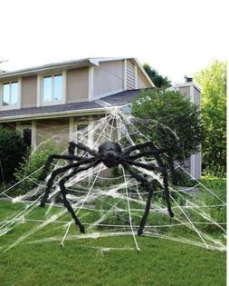 5ft Huge Giant Large Realistic Spider Outdoor Yard Spooky Ha