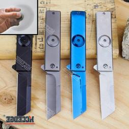 """7"""" ASSISTED OPEN CLEAVER POCKET KNIFE W/ FIDGET SPINNER FEAT"""