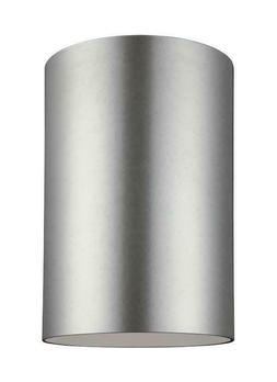 Sea Gull Lighting 7813891S-753 Outdoor Cylinders LED Flush M