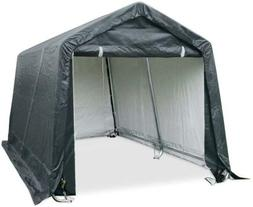 Quictent 8'X8' Heavy Duty Storage Shed Garage Outdoor Car Sh
