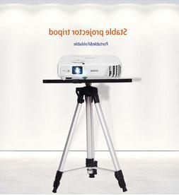 Adjustable Tripod Stand With Tray Laptop Projector Camera Ho