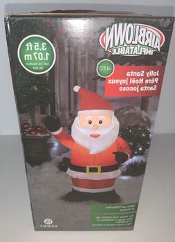 Airblown Inflatables 3.5' LED JOLLY SANTA / Indoor - Outdo