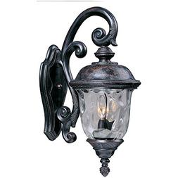 Carriage House DC Outdoor Wall Lantern in Oriental Bronze -