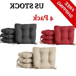 Chair Cushion Set Pad Seat Patio,4 Pack, Outdoor Garden Dini