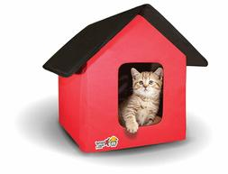 Collapsible Indoor/Outdoor Pet/Cat House - Heated and Standa