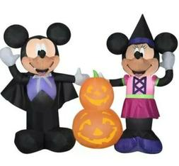 Disney Halloween Decorations Mickey Minnie Mouse Inflatable