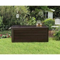 Extra Large Deck Box Keter 150-Gallon Outdoor Storage Contai