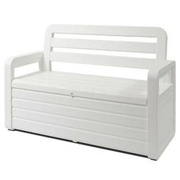 Toomax Foreverspring Deck Storage Box Chest Bench for Outdoo