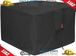 Gas Fire Pit Cover Square,Patio Outdoor Cover Heavy Duty,Wat