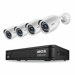 H.265+ Full 1080p Home Security Camera System Outdoor Indoor