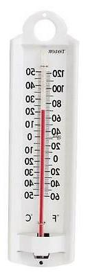 Taylor Precision Products ALU Wall Thermometer
