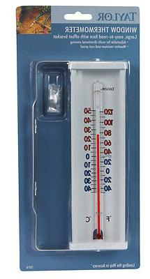 WINDOW THERMOMETER WHI