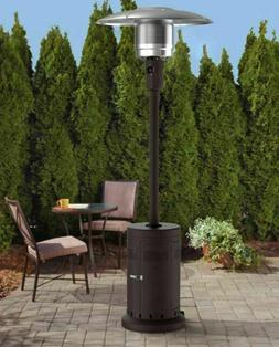 Mainstays Large Outdoor Patio Heater Powder Coat - Brown