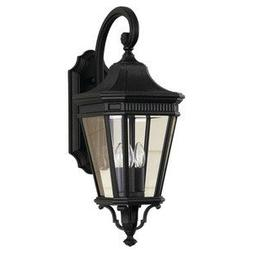 Murray Feiss OL5402BK, Cotswold Lane Outdoor Wall Sconce Lig