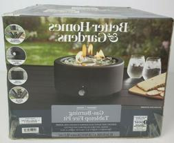 NEW Better Homes & Gardens Round Gas Burning Tabletop Fire P