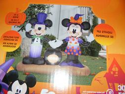 NEW*Disney Halloween Decorations-Mickey Minnie Mouse-Inflata