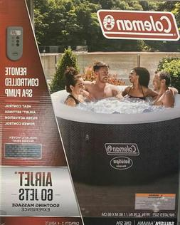 New Coleman SaluSpa 4 Person Inflatable Outdoor Hot Tub Air