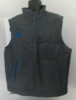 North Face Jackets & Coats Puffer Gray and blue Vest Mens Si