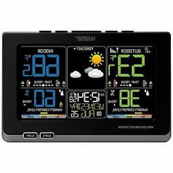 Outdoor Colorful Temperature Weather Wireless Forecast Stati