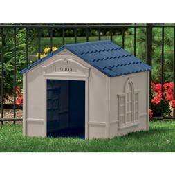 Pet Dog Kennel House XXL XL Extra Large Dogs Outdoor Big She