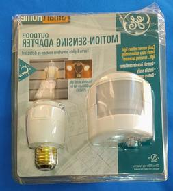 GE Smart Home Outdoor Motion Sensing Adapter, Easy Install