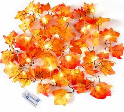 Thanksgiving Decorations Lighted Fall Garland Thanksgiving D
