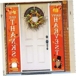 Thanksgiving Decorations Outdoor - Hanging Fall Autumn Thank