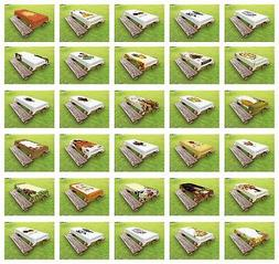 Thanksgiving Outdoor Picnic Tablecloth in 3 Sizes Decorative