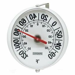 """Thermometer Big Bold Large Numbers 5"""" Outdoor Temp Degree Re"""