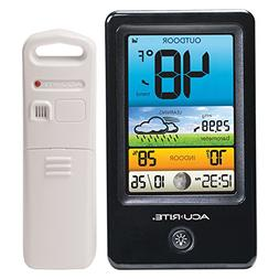 AcuRite 00509 Color Weather Station with Count Temperature/H