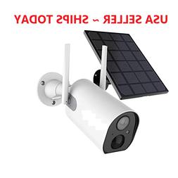 Wireless Security Camera 1080P Outdoor Battery Powered Solar