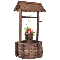 Wishing Well Garden Planters Outdoor Patio Clearance Large R
